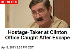 Clinton Office Hostage Taker Escapes
