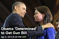 Obama &amp;#39;Determined&amp;#39; to Get Gun Bill