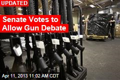 Senate&amp;#39;s Gun Control Debate: Let the Showdown Begin