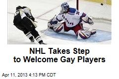 NHL Takes Step to Welcome Gay Players