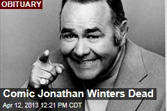 Comic Jonathan Winters Dead
