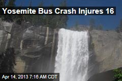 Yosemite Bus Crash Injures 16