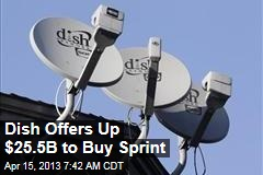 Dish Offers Up $25.5B to Buy Sprint
