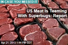 US Meat Is Teeming With Superbugs