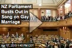 NZ Parliament Busts Out in Song on Gay Marriage