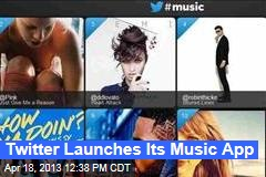 Twitter Launches Its Music App