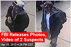 FBI Releases Images of 2 Suspects