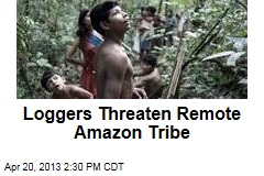 Loggers Threaten Remote Amazon Tribe
