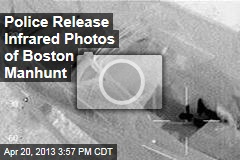 Police Release Infrared Photos of Boston Manhunt