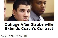 Outrage After Steubenville Extends Coach&amp;#39;s Contract