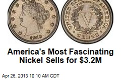 America's Most Fascinating Nickel Sells for $3.2M