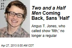 Two and a Half Men Coming Back, Sans &amp;#39;Half&amp;#39;
