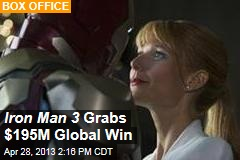 Iron Man 3 Grabs $195M Global Win