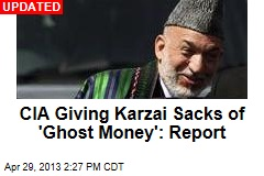 CIA's Afghan Strategy: Give Karzai Sacks of Cash