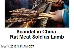 Scandal in China: Rat Meat Sold as Lamb