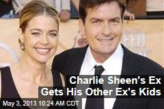 Charlie Sheen's Ex Gets His Other Ex's Kids