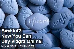 Bashful? Now You Can Buy Viagra Online