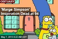 &amp;#39;Marge Simpson&amp;#39; Inspiration Dead at 94