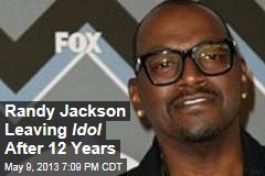 Randy Jackson Leaving Idol After 12 Years