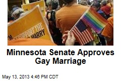 Minnesota Senate Approves Gay Marriage
