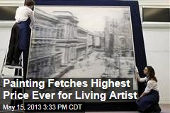 Painting Fetches Highest Price Ever for Living Artist