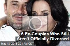 6 Ex-Couples Who Still Aren&amp;#39;t Officially Divorced