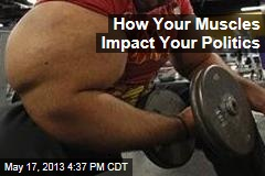 How Your Muscles Impact Your Politics