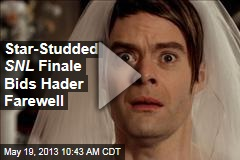 Star-Studded SNL Finale Bids Hader Farewell