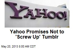 Yahoo Promises Not to &amp;#39;Screw Up&amp;#39; Tumblr