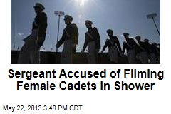 Sergeant Accused of Filming Female Cadets in Shower
