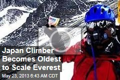 Japan Climber Becomes Oldest to Scale Everest