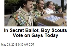 In Secret Ballot, Boy Scouts Vote on Gays Today