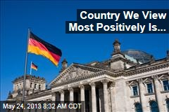 Country We View Most Positively Is...