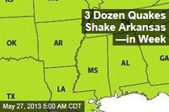 Another Fracking Mess? Quake Swarm Shakes Arkansas