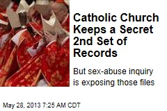 Catholic Church Keeps a Secret 2nd Set of Records