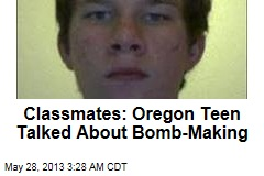 Classmates: Oregon Teen Talked About Bomb-Making