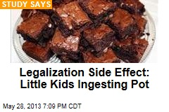 Legalization Side Effect: Little Kids Ingesting Pot
