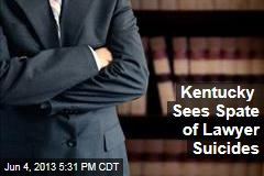Kentucky Sees Spate of Lawyer Suicides