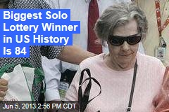 Biggest Solo Lottery Winner in US History Is 84