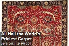 All Hail the World's Priciest Carpet