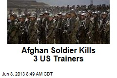 Afghan Soldier Kills 3 US Troops