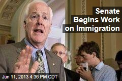 Senate Begins Work on Immigration