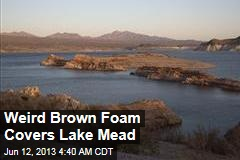 Weird Brown Foam Covers Lake Mead