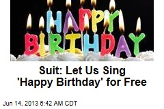 Today's Unusual Lawsuit Over 'Happy Birthday'