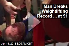 Man Breaks Weightlifting Record ... at 91