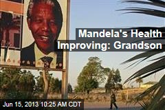 Mandela's Health Improving: Grandson