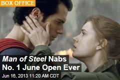 Man of Steel Nabs No. 1 June Open Ever