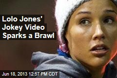 Lolo Jones' Video Rant on Bobsled Pay Spawns a Brawl