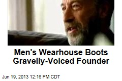 Men's Wearhouse Boots Gravelly-Voiced Founder