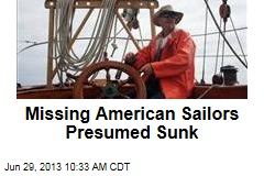 Missing American Sailors Presumed Sunk